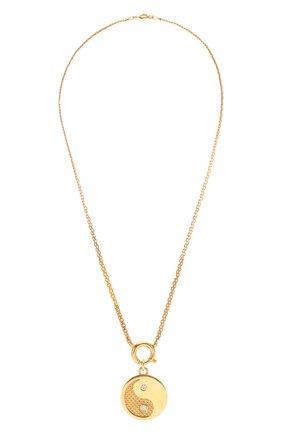 Женское колье LEVASHOVAELAGINA золотого цвета, арт. yy/n | Фото 1