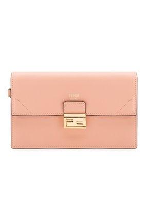 Женская сумка kan mini FENDI розового цвета, арт. 8M0435 A5DY | Фото 1