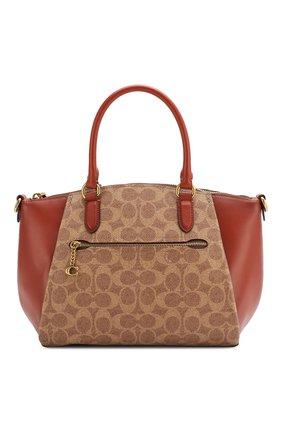 Женская сумка elise COACH коричневого цвета, арт. 79364 | Фото 1