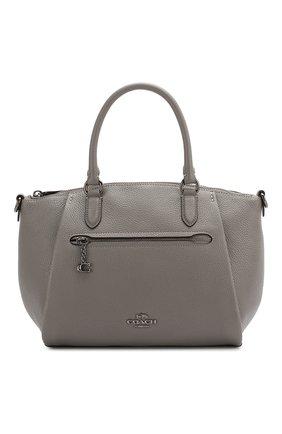 Женская сумка elise COACH серого цвета, арт. 79316 | Фото 1