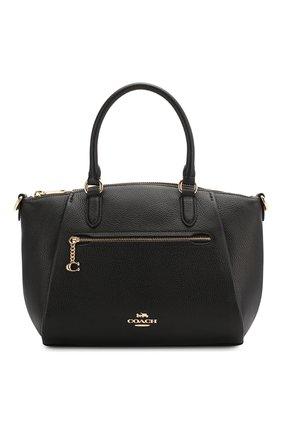 Женская сумка elise COACH черного цвета, арт. 79316 | Фото 1