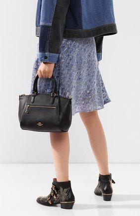 Женская сумка elise COACH черного цвета, арт. 79316 | Фото 2