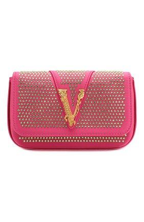 Женская сумка virtus VERSACE фуксия цвета, арт. DBFH209/D2RASS | Фото 1