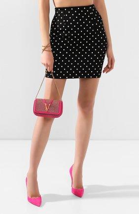 Женская сумка virtus VERSACE фуксия цвета, арт. DBFH209/D2RASS | Фото 2