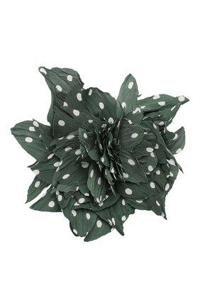 брошь pion FLOWER ME зеленого цвета, арт. PION-NS008005L | Фото 1