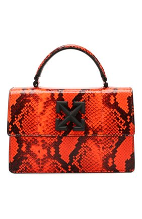 Женская сумка 1.4 jitney OFF-WHITE оранжевого цвета, арт. 0WNA092R20D840681900 | Фото 1