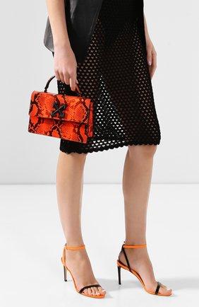 Женская сумка 1.4 jitney OFF-WHITE оранжевого цвета, арт. 0WNA092R20D840681900 | Фото 2