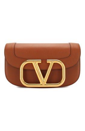 Женская сумка valentino garavani supervee VALENTINO коричневого цвета, арт. TW0B0G09/ZXL | Фото 1