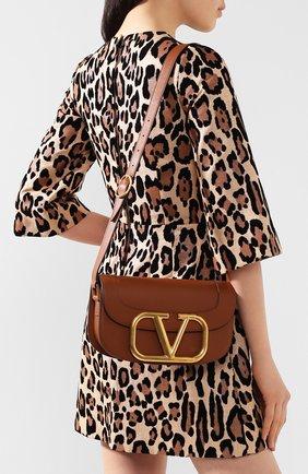 Женская сумка valentino garavani supervee VALENTINO коричневого цвета, арт. TW0B0G09/ZXL | Фото 2