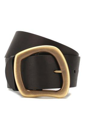 Женский кожаный ремень GABRIELA HEARST черного цвета, арт. 320808 | Фото 1
