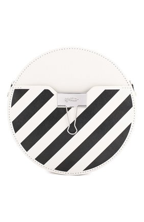 Женская сумка diag OFF-WHITE белого цвета, арт. 0WNA110S20LEA0010310 | Фото 1