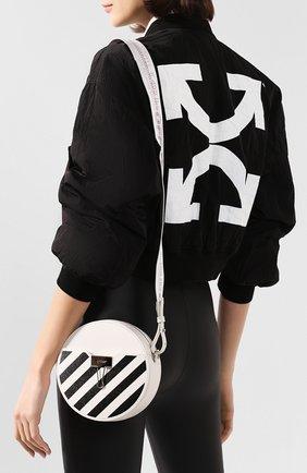 Женская сумка diag OFF-WHITE белого цвета, арт. 0WNA110S20LEA0010310 | Фото 2