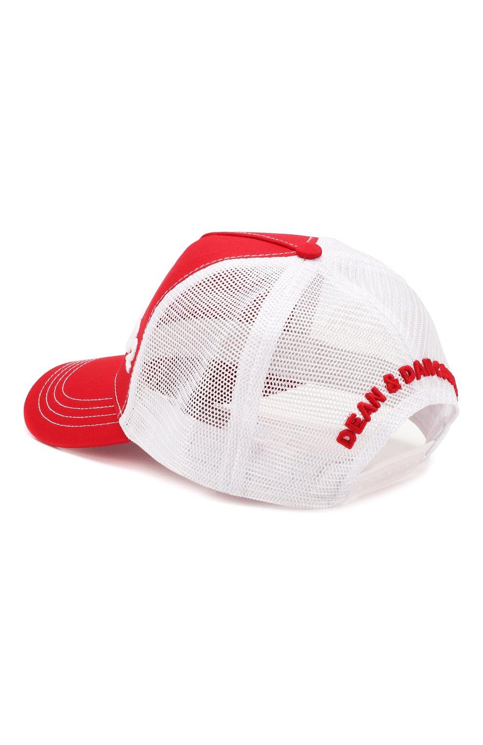 Женская бейсболка DSQUARED2 красного цвета, арт. BCM0028 13550001 | Фото 2