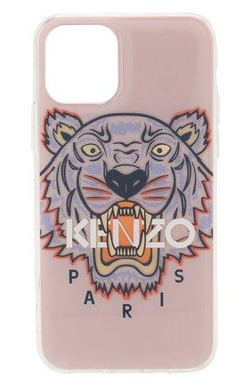 Мужской чехол для iphone 11 pro KENZO светло-розового цвета, арт. FA5C0KIXITIG | Фото 1