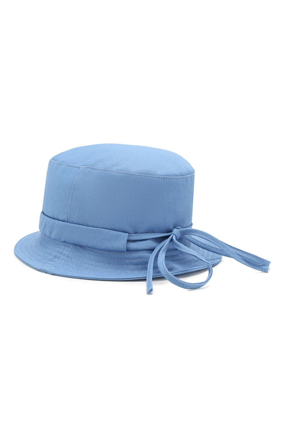 Женская хлопковая панама JACQUEMUS голубого цвета, арт. 201AC26/69320 | Фото 2