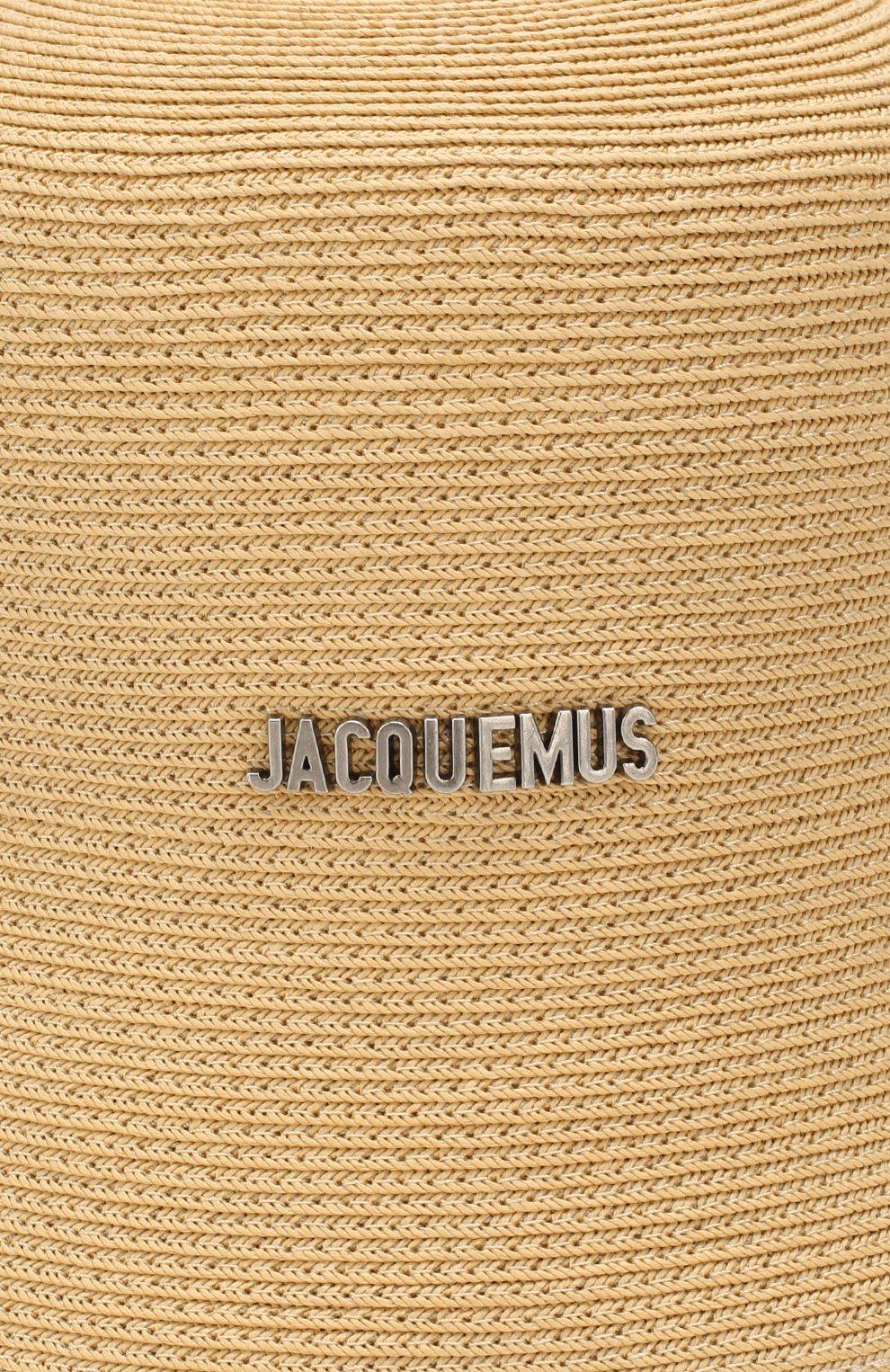 Женская панама JACQUEMUS бежевого цвета, арт. 201AC27/70120 | Фото 3