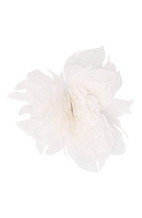 Женская брошь pion FLOWER ME белого цвета, арт. PION-NS004010L   Фото 1