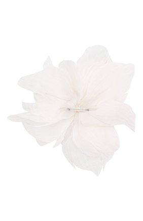 Женская брошь pion FLOWER ME белого цвета, арт. PION-NS004010L   Фото 2