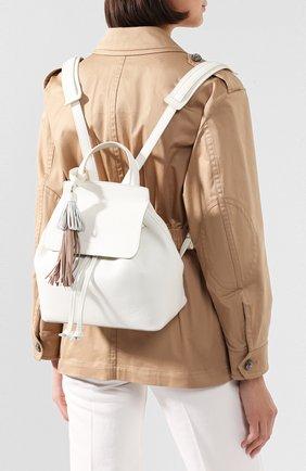 Женский рюкзак SANTONI белого цвета, арт. DFBBA1828SF-HAD1I50 | Фото 2