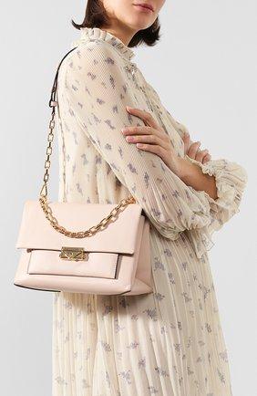 Женская сумка cece large MICHAEL MICHAEL KORS светло-розового цвета, арт. 30S9G0EL3L   Фото 2