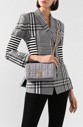 Женская сумка lola BURBERRY серого цвета, арт. 8028109   Фото 2