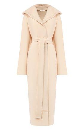 Женское пальто из смеси шерсти и кашемира THE ROW кремвого цвета, арт. 4966F736 | Фото 1