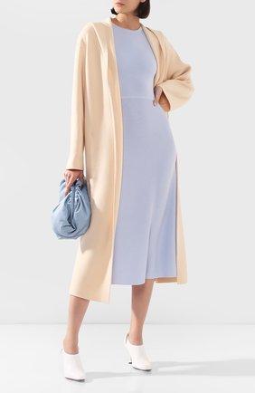 Женское пальто из смеси шерсти и кашемира THE ROW кремвого цвета, арт. 4966F736 | Фото 2