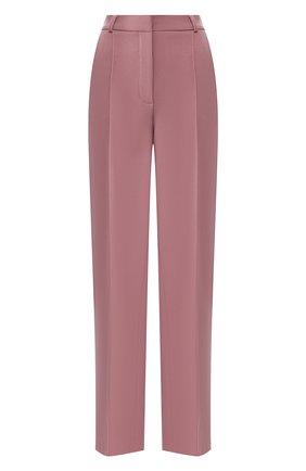 Женские брюки из вискозы LESYANEBO сиреневого цвета, арт. SS20/H-157   Фото 1