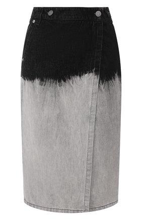 Женская джинсовая юбка NUDE серого цвета, арт. 1103811/SKIRT | Фото 1