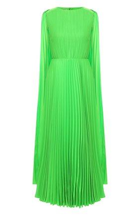 Женское платье-макси VALENTINO зеленого цвета, арт. TB0VARD15HE | Фото 1