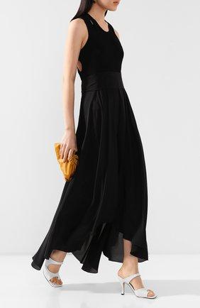 Женское платье из смеси шелка и вискозы PETAR PETROV черного цвета, арт. ALBA S20D5K1 | Фото 2