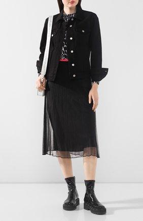 Женская юбка-миди HELMUT LANG черного цвета, арт. K02HW701 | Фото 2