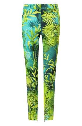 Женские брюки из вискозы VERSACE зеленого цвета, арт. A86124/A234694 | Фото 1