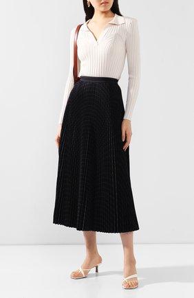 Женская пуловер из вискозы TOTÊME белого цвета, арт. ARRAD0N 202-503-755 | Фото 2