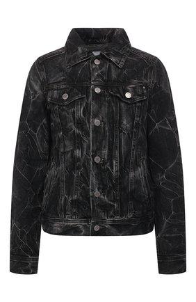 Женская джинсовая куртка AG черного цвета, арт. BKS4179/PRVC | Фото 1
