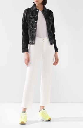 Женская джинсовая куртка AG черного цвета, арт. BKS4179/PRVC | Фото 2