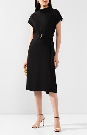 Женское платье из вискозы ST. JOHN черного цвета, арт. K11ZW11 | Фото 2