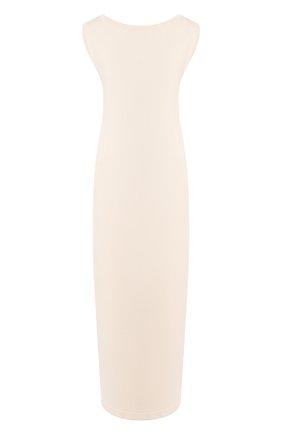 Женское хлопковое платье TWINS FLORENCE кремвого цвета, арт. TWFPE20MAG0005 | Фото 1
