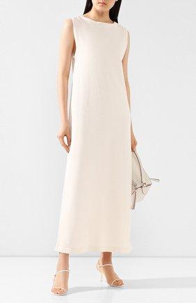 Женское хлопковое платье TWINS FLORENCE кремвого цвета, арт. TWFPE20MAG0005 | Фото 2