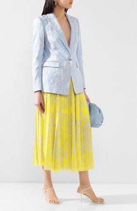 Женская юбка-миди ESCADA желтого цвета, арт. 5033284 | Фото 2