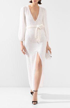 Женское платье-макси RETROFÊTE белого цвета, арт. HL20-2408   Фото 2