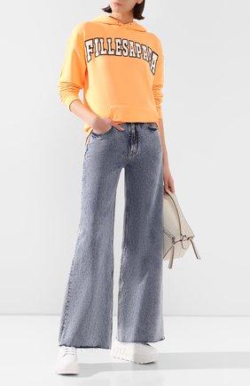 Женские джинсы FILLES A PAPA синего цвета, арт. R0ME0 L.32 DENIM | Фото 2