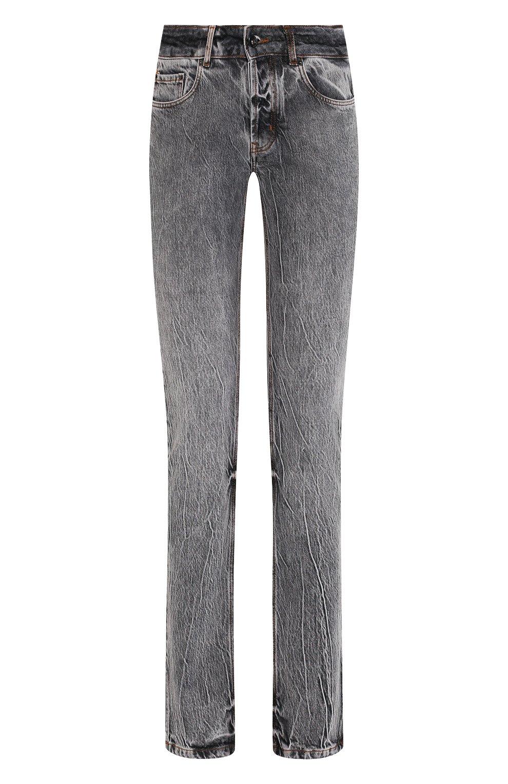 Женские джинсы FILLES A PAPA серого цвета, арт. STEVE L.32 DENIM   Фото 1