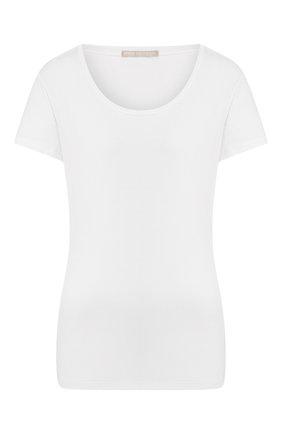 Женская хлопковая футболка MEY светло-розового цвета, арт. 16 824 | Фото 1