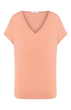 Женская футболка MEY кораллового цвета, арт. 16 304 | Фото 1