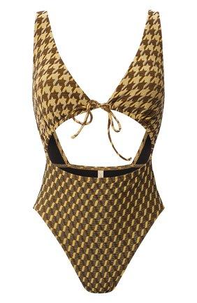 Женский слитный купальник GOTTEX желтого цвета, арт. 20RR026 | Фото 1