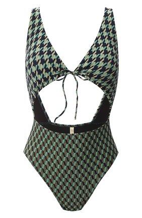 Женский слитный купальник GOTTEX зеленого цвета, арт. 20RR026 | Фото 1