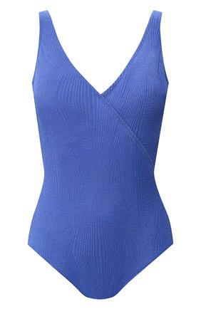 Женский слитный купальник GOTTEX голубого цвета, арт. 20CO158   Фото 1