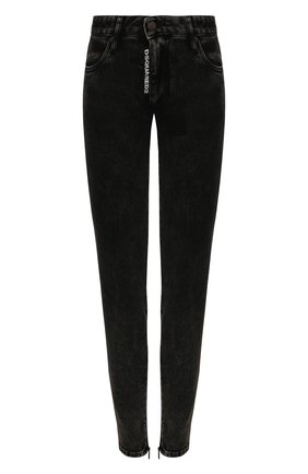 Женские джинсы DSQUARED2 черного цвета, арт. S72LB0270/S30684 | Фото 1