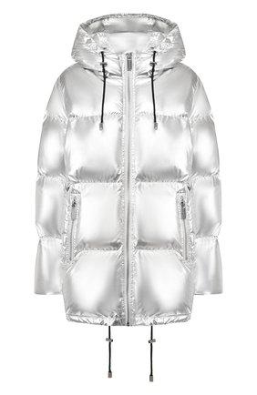 Женский пуховая куртка MICHAEL MICHAEL KORS серебряного цвета, арт. MH92J2580Y | Фото 1